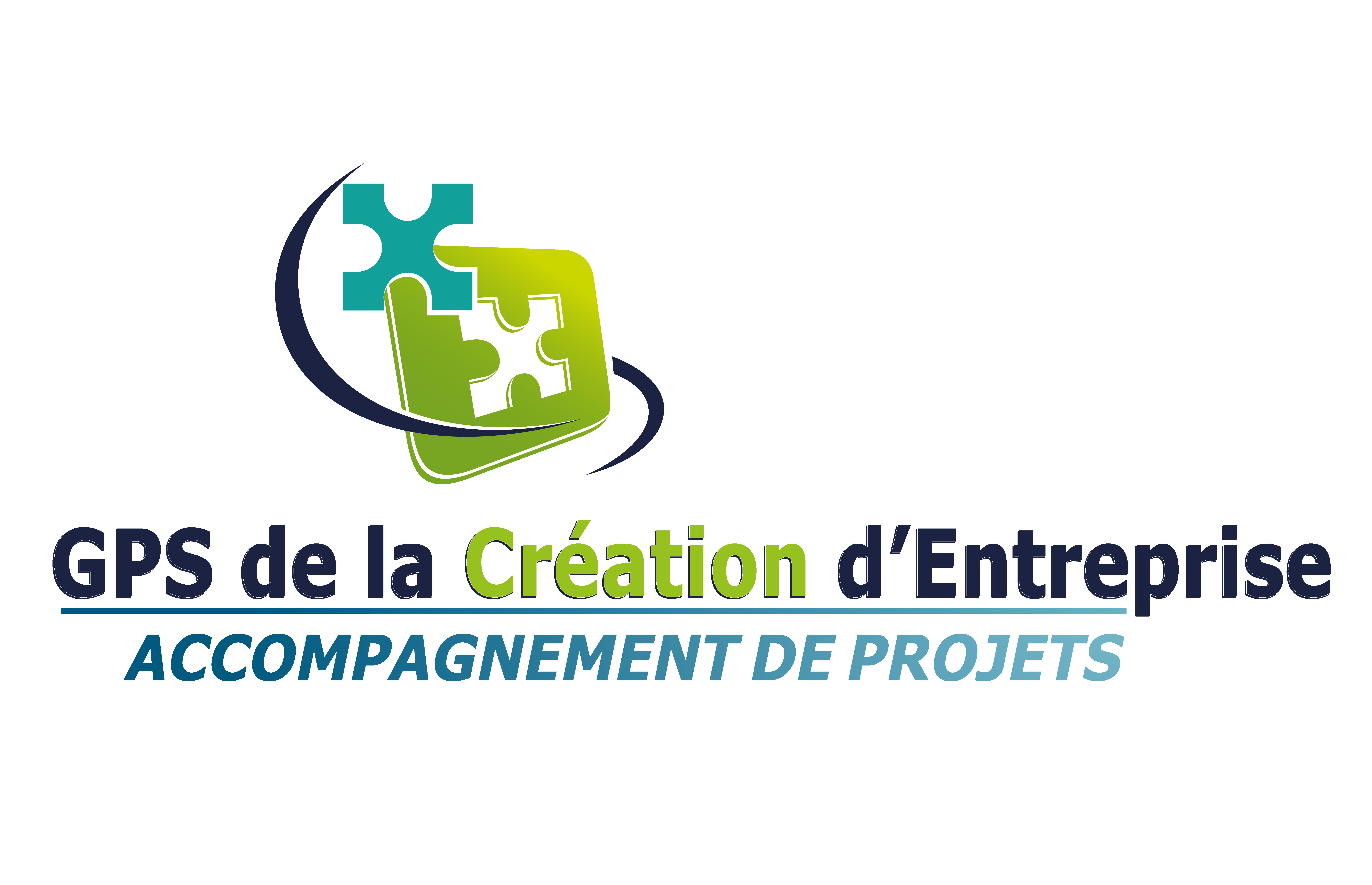 logo gps de la création d'entreprise