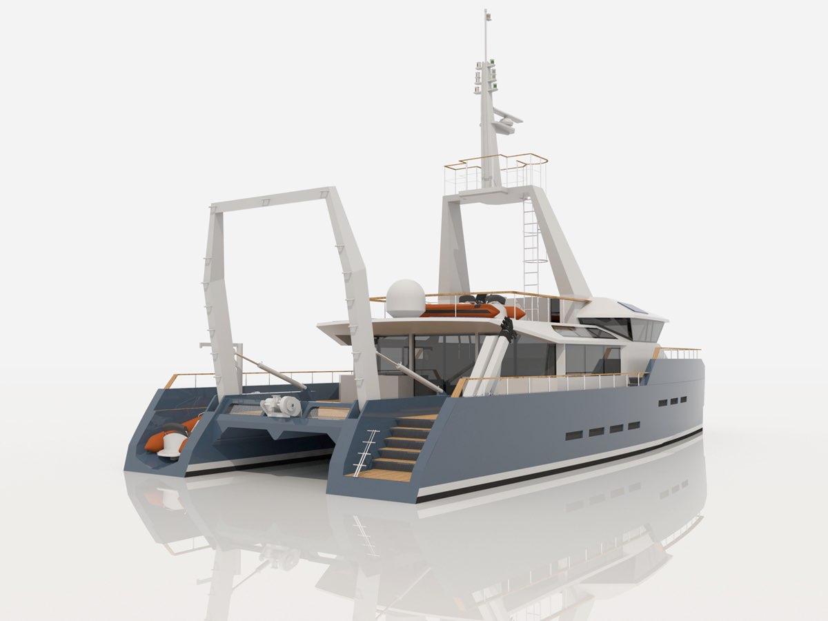 TEO Projet Reliance, un navire-école océanographique