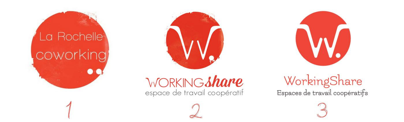 évolution des logo du WS