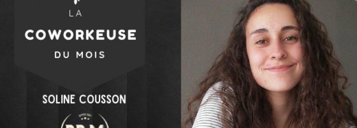 Portrait du mois - Soline Cousson