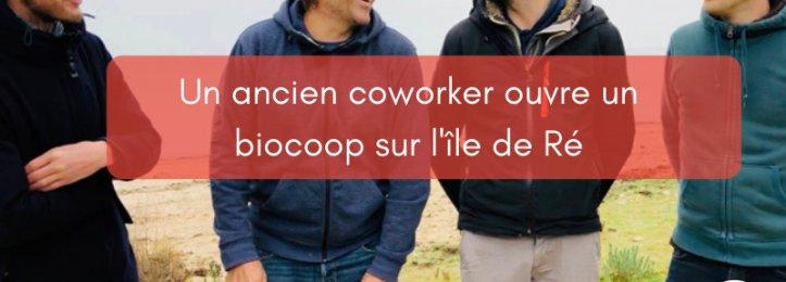 Un ancien coworker ouvre un biocoop sur l'île de Ré