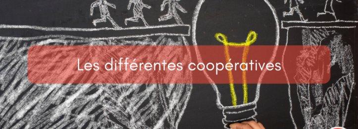 Les différentes coopératives