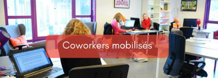 Coworkers mobilisés
