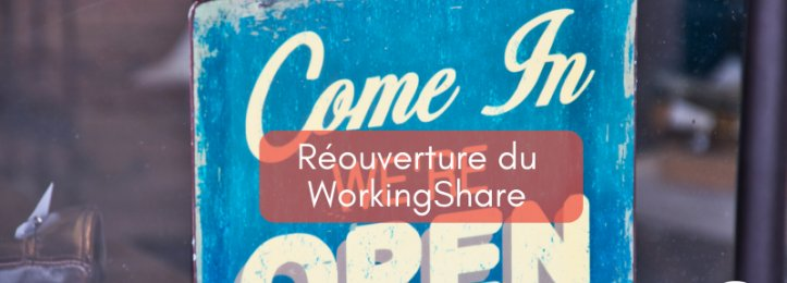 Réouverture WorkingShare