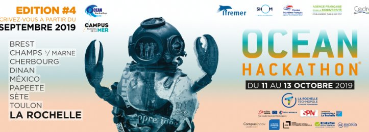 Océan Hackathon - Trait Bleu pour Fabrice