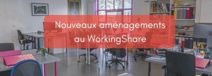 Nouveaux aménagements au WorkingShare