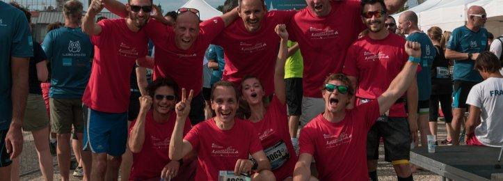Triathlon Challenge Entreprises de La Rochelle,  les coworkers ont relevé le défi